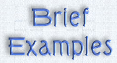 Brief Example Index